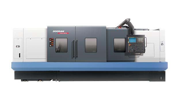 jaloilla uusin aito Horizontal CNC Lathe: Puma 400 Series